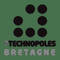 logo- association des 7 technopoles bretonnes - Lorient Technopole