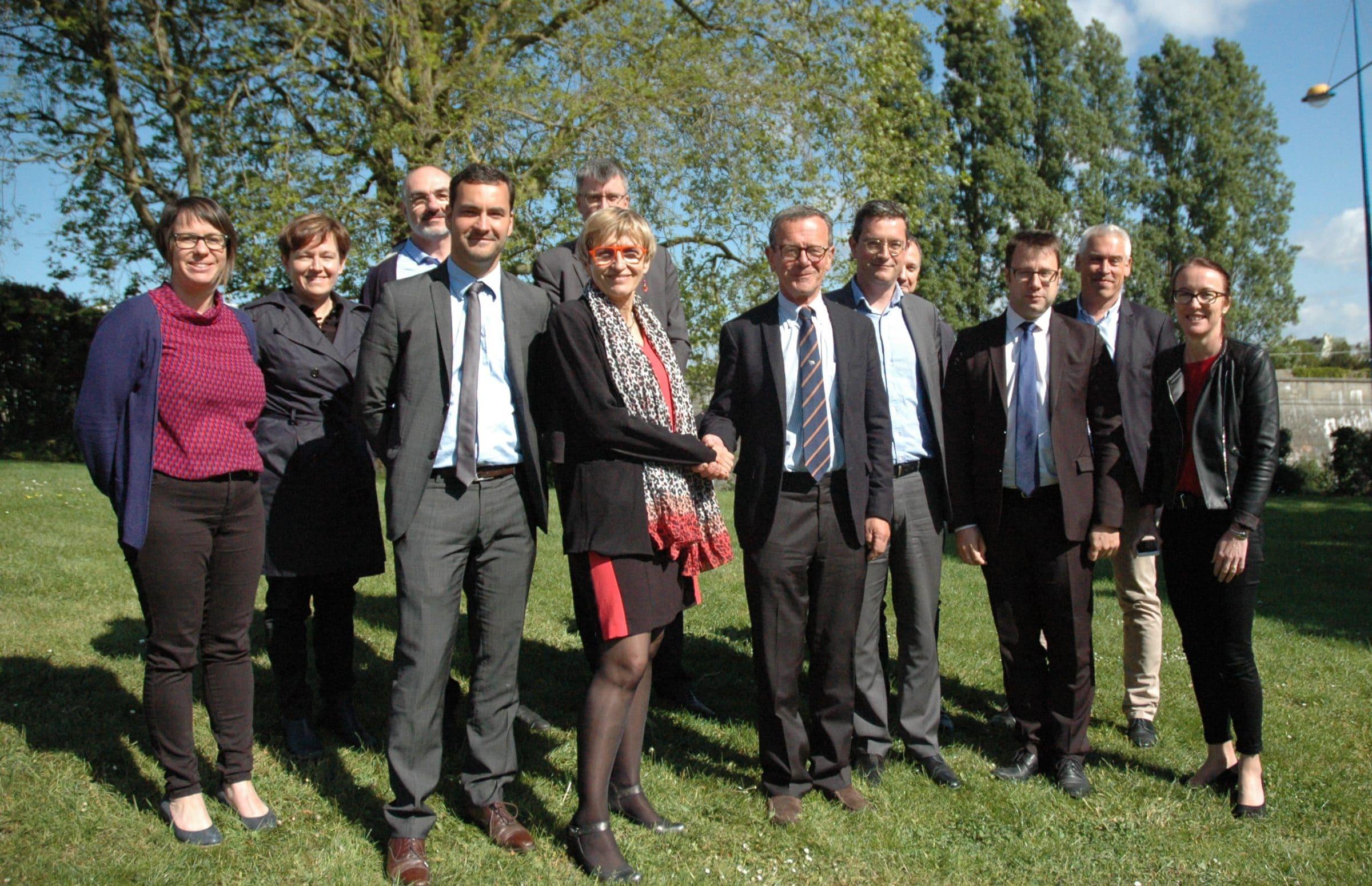 Assemblée générale 2017 des 7 Technopoles bretonnes. Thérèse Thiery élue à la présidence de l'association des 7TB