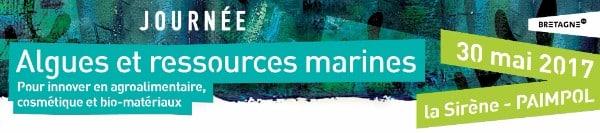 Journée Algues et ressources marines le 30 mai 2017 à Paimpol, par la Technopole Anticipa
