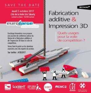 Conférence Fabrication additive et impressions 3D. Quels usages pour la voile de compétition ?