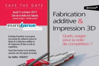 Fabrication additive et impression 3D. Quels usages pour la voile de compétition ?