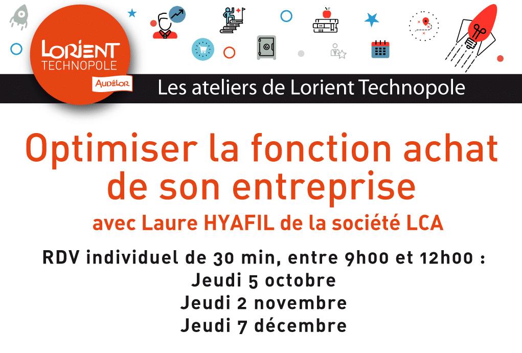 Atelier achat Lorient Technopole