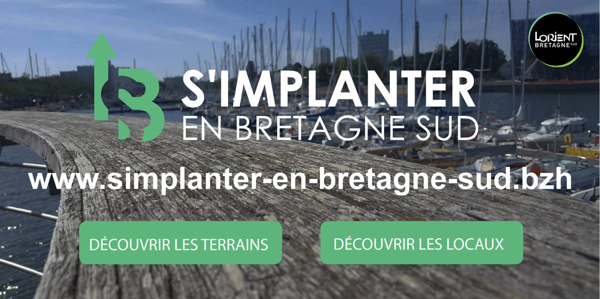 www.simplanter-en-bretagne-sud.bzh – Un nouveau site Web à votre service. Entrepreneurs, implantez votre activité sur Lorient Bretagne sud