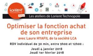 Atelier Lorient Technopole Achat avec Laure Hyafil