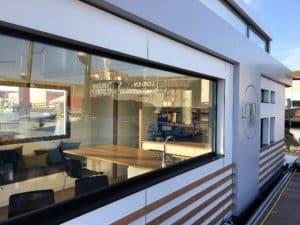 Sealoft - Vue sur la cuisine et le salon