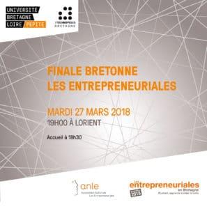 Finale Les entrepreneuriales 27 mars 2018