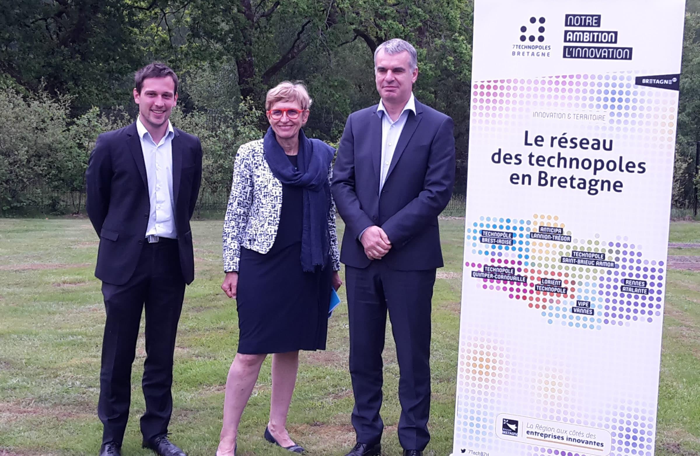 Assemblée Générale des 7 Technopoles de Bretagne – 83 entreprises innovantes créées en 2017 et 57 startups incubées par Emergys Bretagne