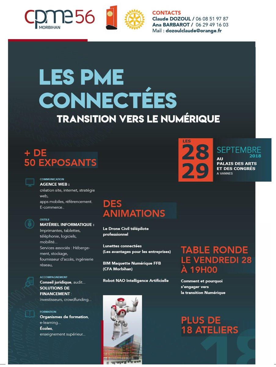 Les PME connectées – 28 & 29 Septembre à Vannes