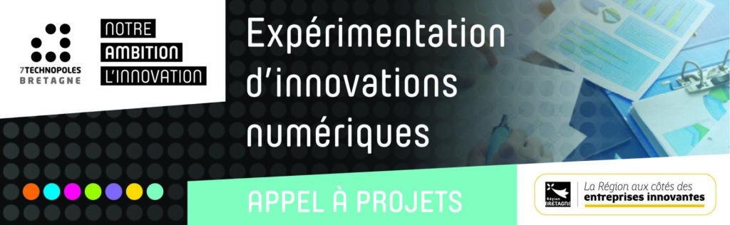 Expérimentation d'innovations numériques – Appel à projet de la Région Bretagne ouvert jusqu'au 26 novembre
