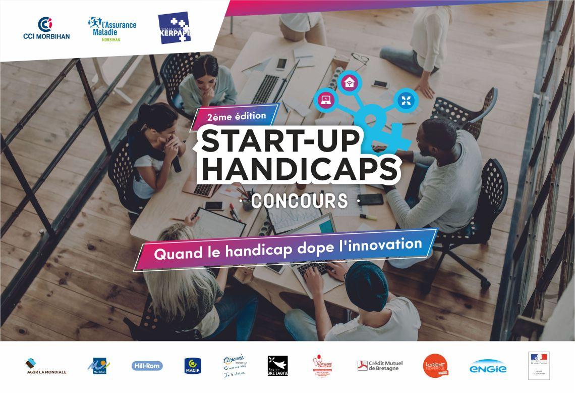 Start-up & Handicaps : Le concours saison 2 est ouvert ! Quand le handicap dope l'innovation