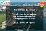 Tour de France des mécènes – Étape #17 : LORIENT le 7 mars