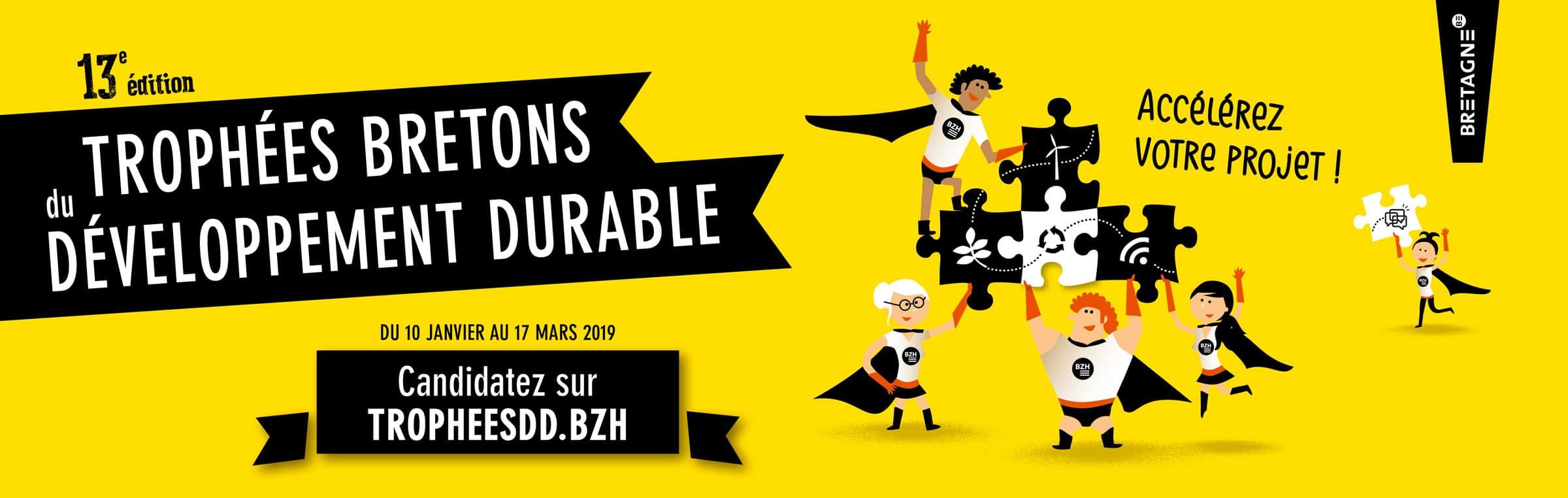 [ Concours ] 13e édition des Trophées bretons du développement durable – Candidatez !