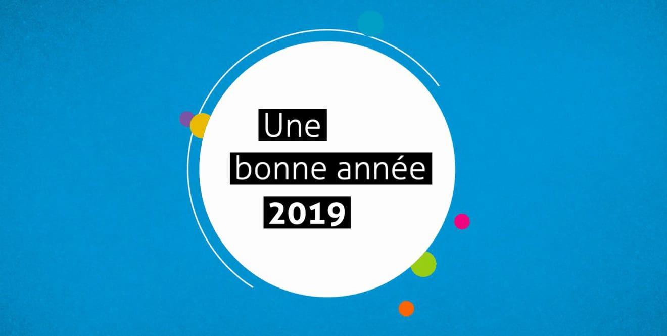 Le réseau des 7 Technopoles Bretagne vous souhaite une bonne année 2019