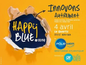 happy blue