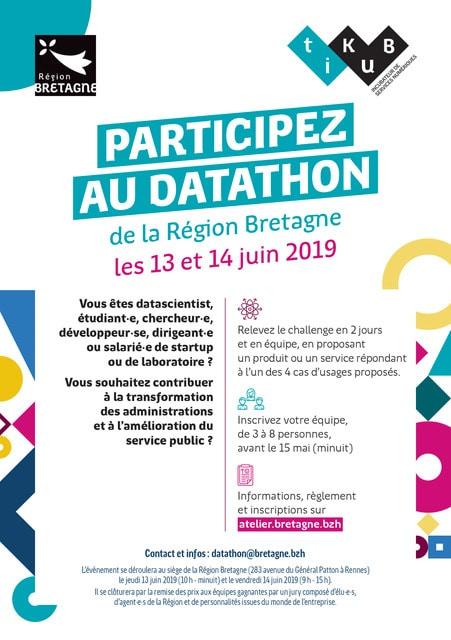 Datathon Région Bretagne 2019