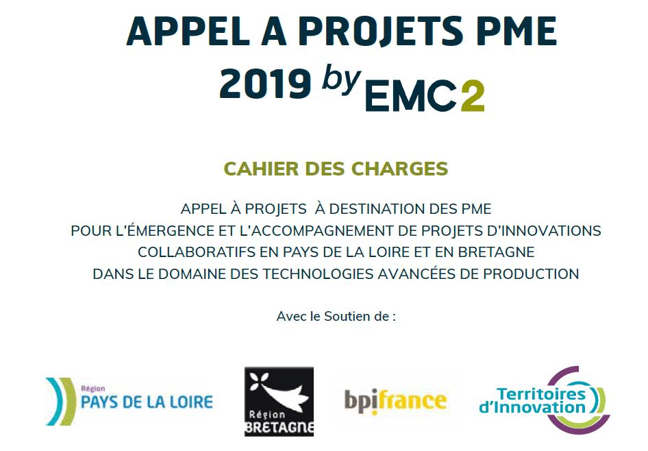 Appel à projets | Le Pôle EMC2 lance deux appels à projets PME : AAP PME by EMC2 et Accès PME