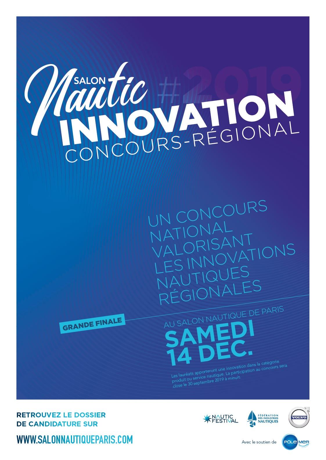 Nautic de Paris – Concours d'innovation nautique 2019