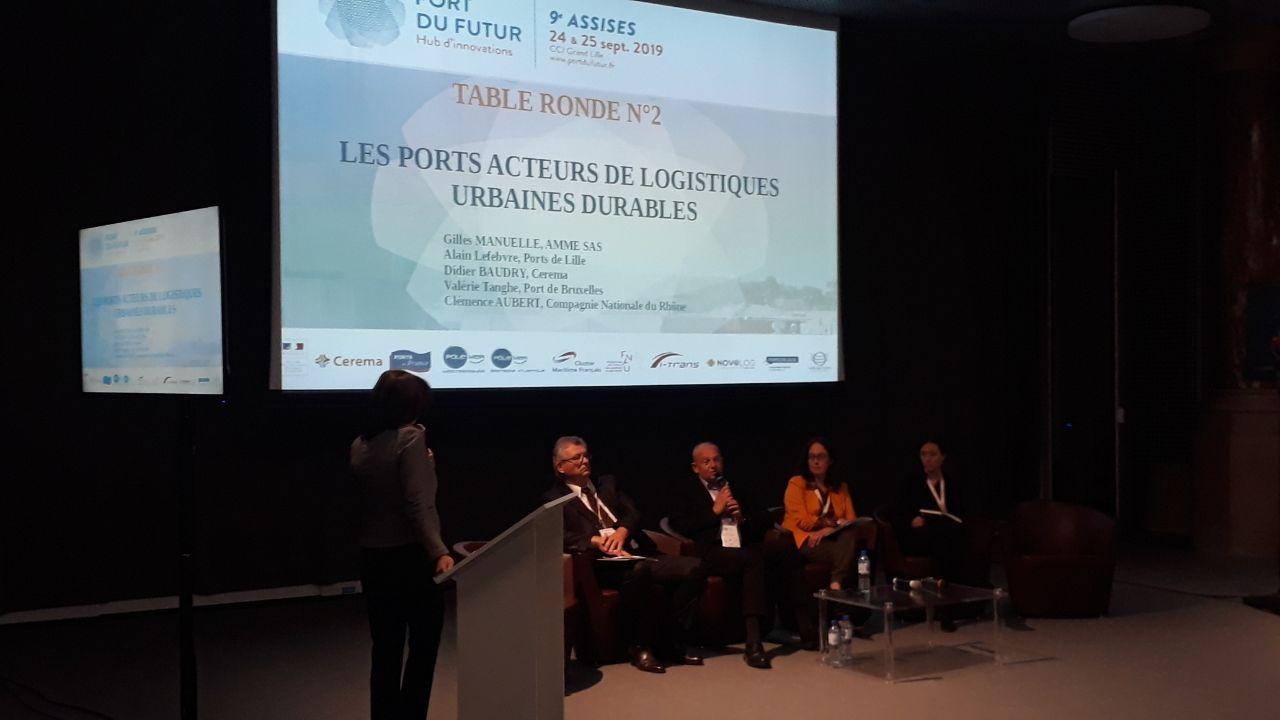 Retour sur la 9ème édition des Assises du port du futur – Lille 24 et 25 septembre 2019