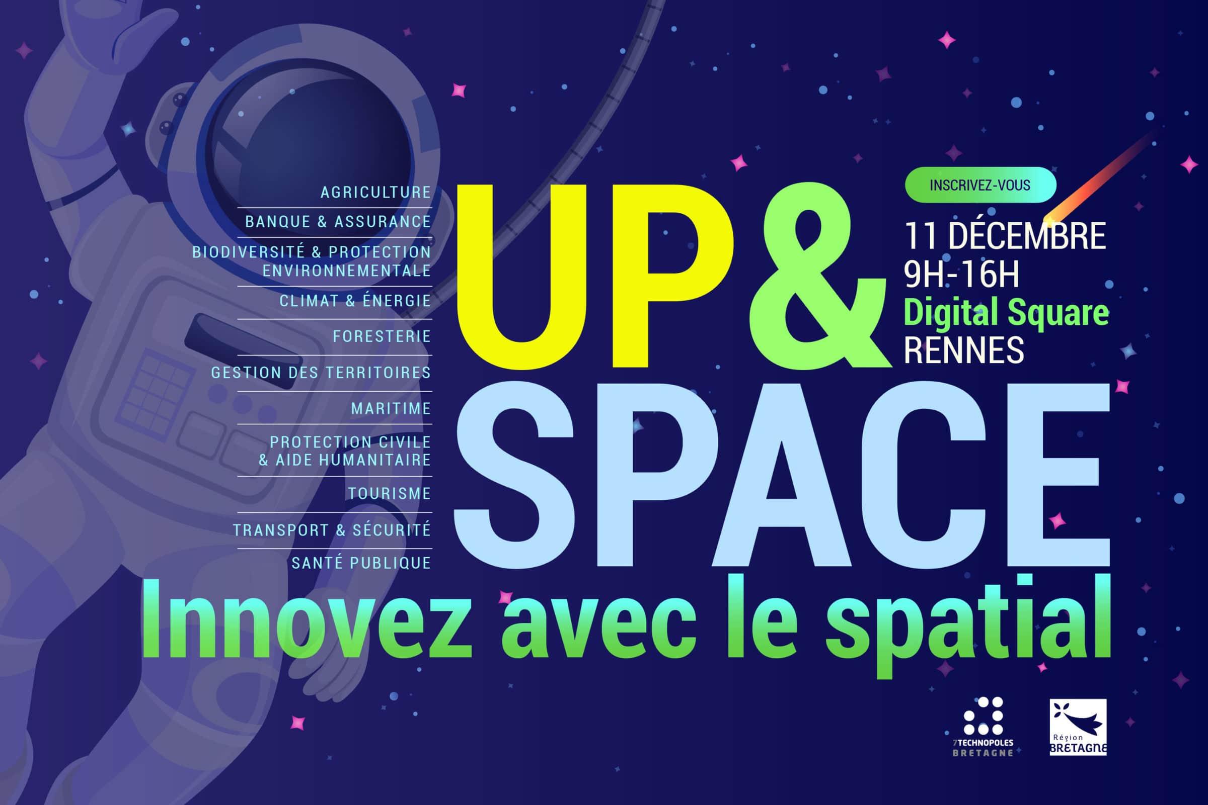 Up & Space : innovez avec le spatial – Le 11 décembre à Rennes