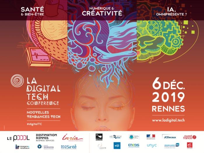 Digital Tech Conférence le 6 décembre à Rennes