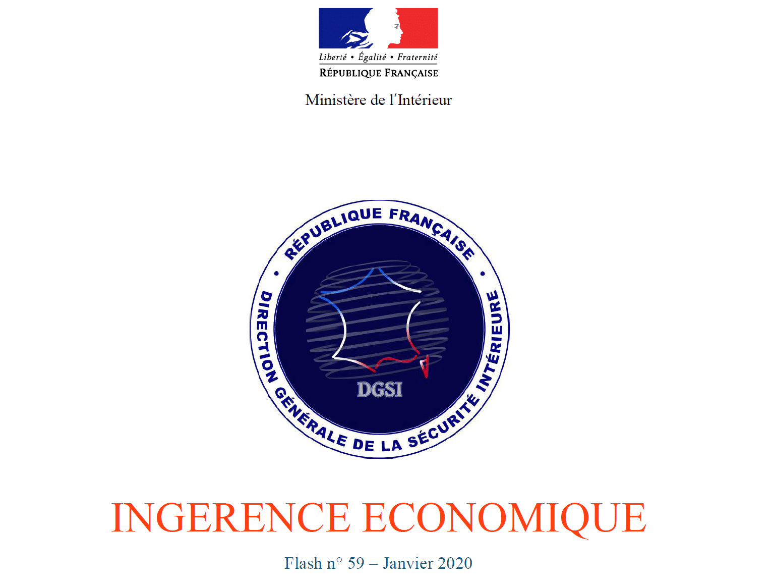 Flash ingérence de la DGSI – Salons professionnels