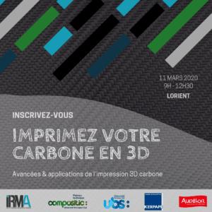 Imprimez votre carbone en 3D