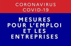 Coronavirus mesures de soutien aux entreprises