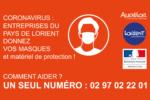 COVID-19 | Entreprises, donnez vos masques et votre matériel de protection sanitaire