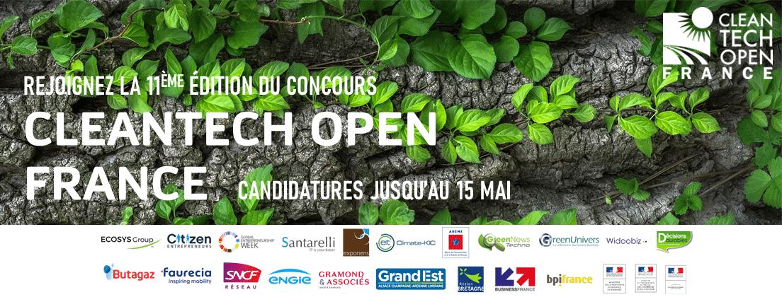 Concours | Cleantech Open France 2020