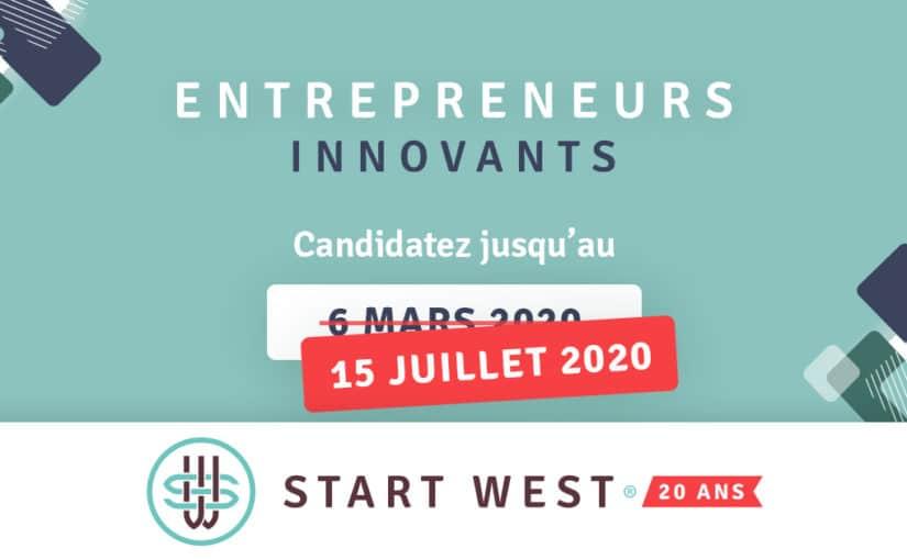 START WEST 2020 : l'événement reporté en septembre et l'appel à candidature prolongé