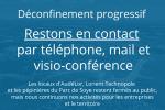 AudéLor, Lorient Technopole et les pépinières du Parc de Soye restent à votre écoute