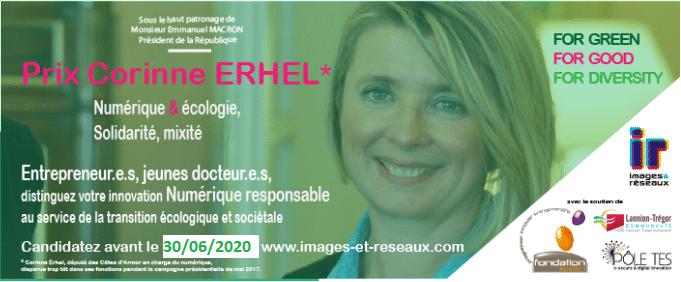 Prix | Corinne Erhel par Images & Réseaux : Numérique & écologie, solidarité, mixité