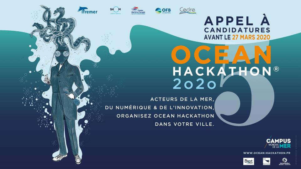 OCEAN HACKATHON® 2020 – 170 défis sélectionnés | 17 villes toujours en lice | 29 défis à Brest