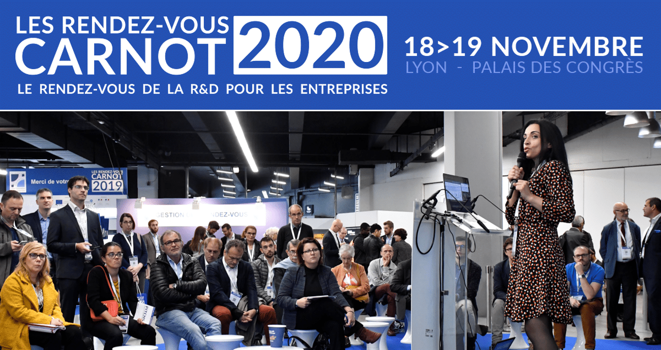 RDV Carnot | Candidatez aux Pitchs «Start-up et PME innovante»