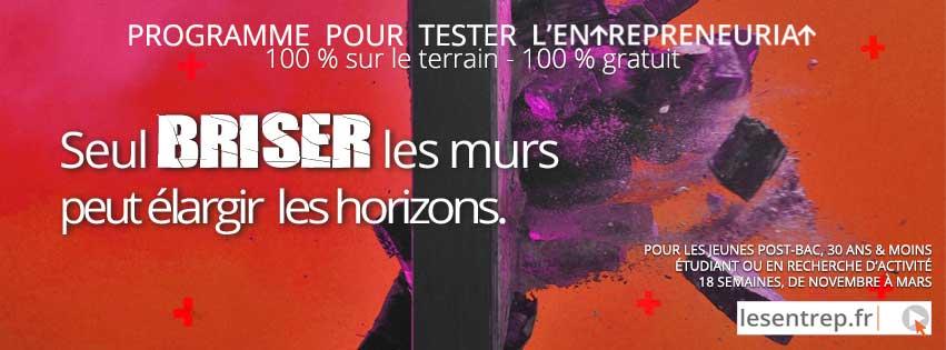 LES ENTREP' |  Un programme à destination des étudiant·e·s coordonné par les 7 Technopoles Bretagne