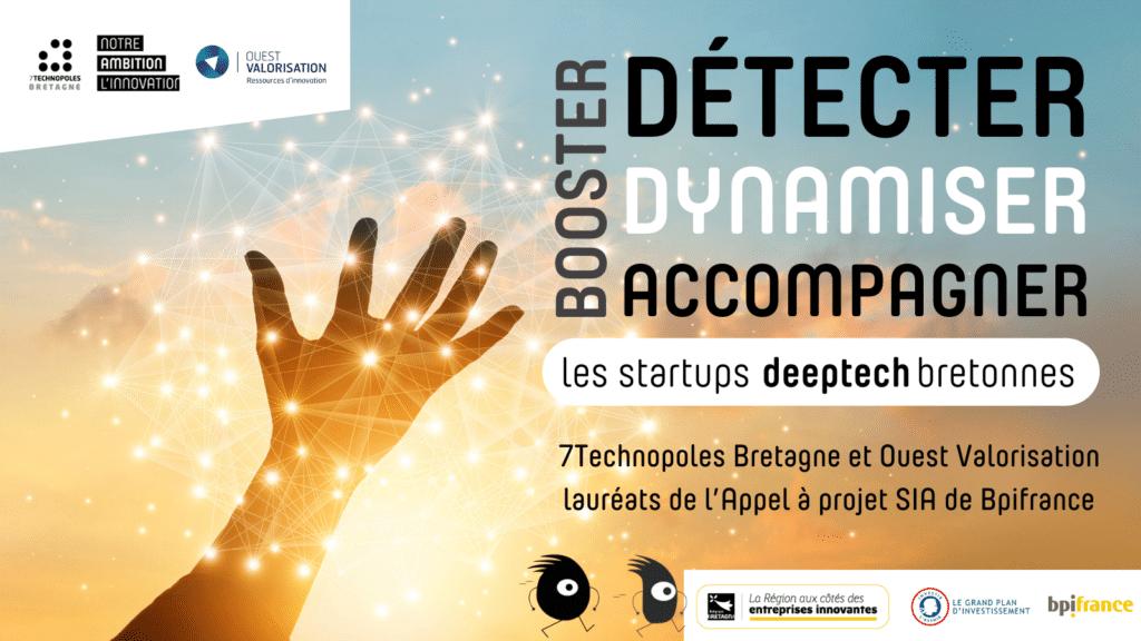L'association 7 Technopoles Bretagne et la SATT Ouest Valorisation veulent donner des ailes aux startups DEEPTECH en Bretagne