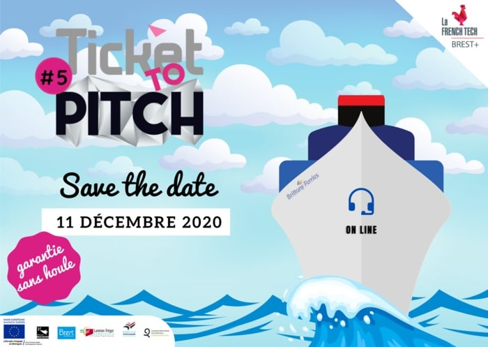 Ticket to Pitch #5 – Save The Date