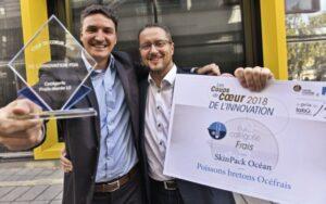 Skin pack Océan remporte le prix de l'innovation 2018 au salon des innovations des produits de la mer