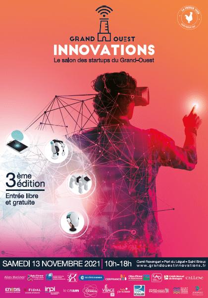 Grand Ouest innovations – Salon des startups du Grand-Ouest le 13 novembre 2021