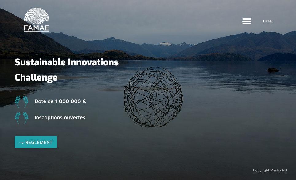 Concours FAMAE | Soutenir des solutions innovantes et concrètes pour lutter contre le changement climatique