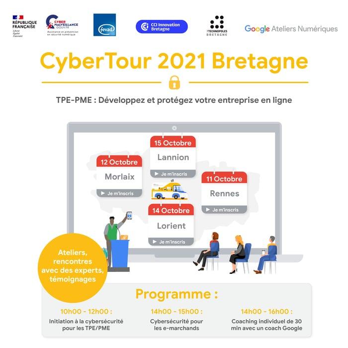 CYBERTOUR Bretagne – Jeudi 14 octobre à Lorient